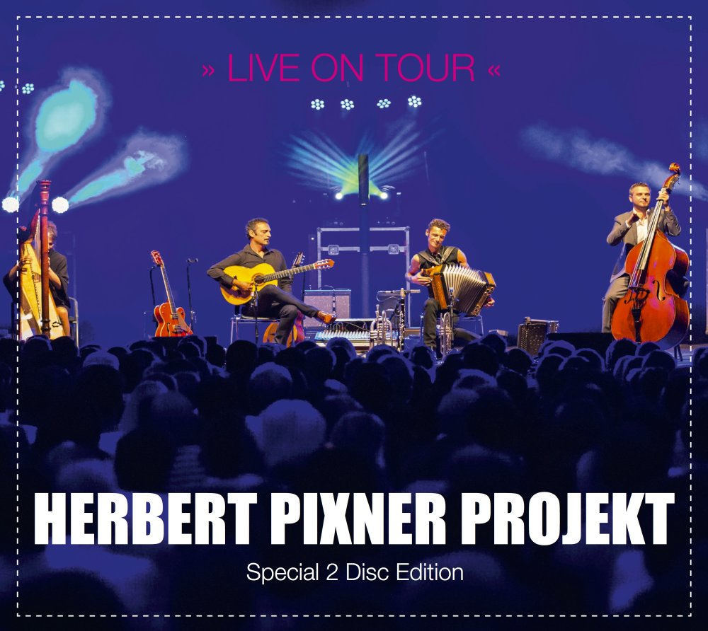 Live on Tour CD Herbert Pixner