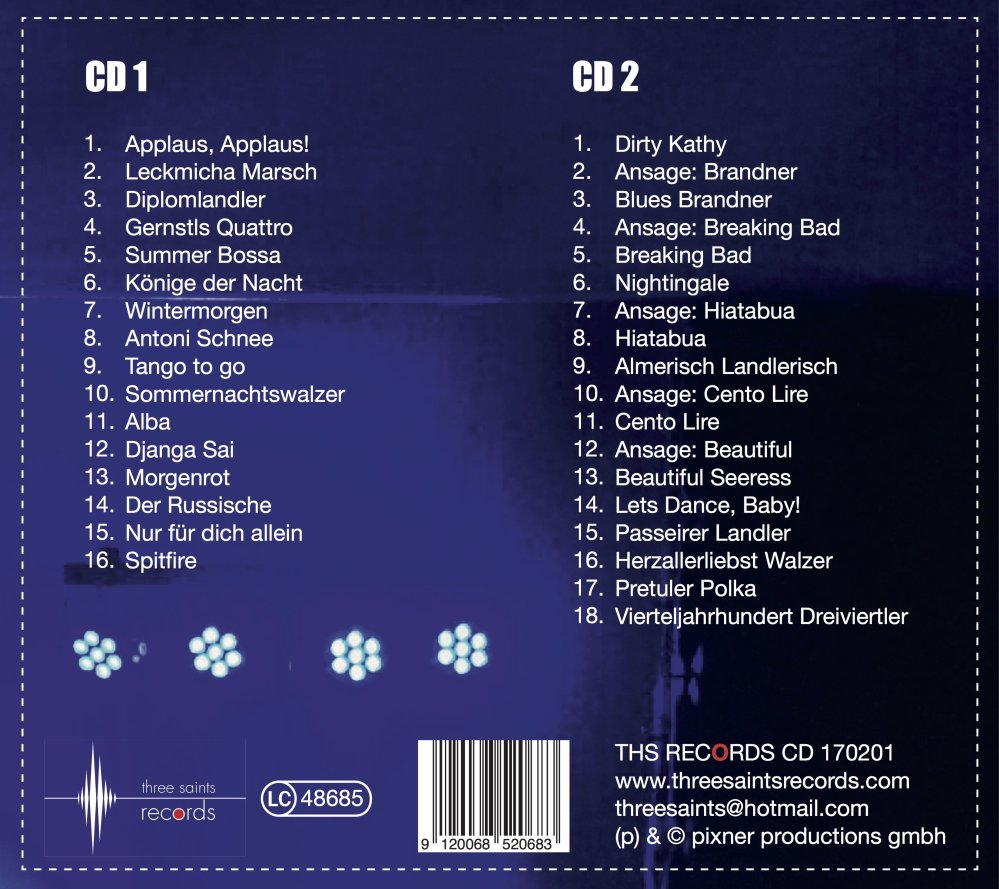 Herbert Pixner Live on Tour CD